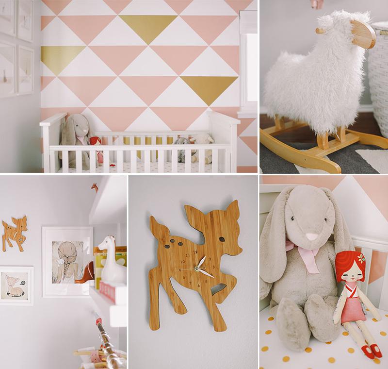 Babykamer Behang Roze : Naar babykamer inspiratie kwam ik deze ...