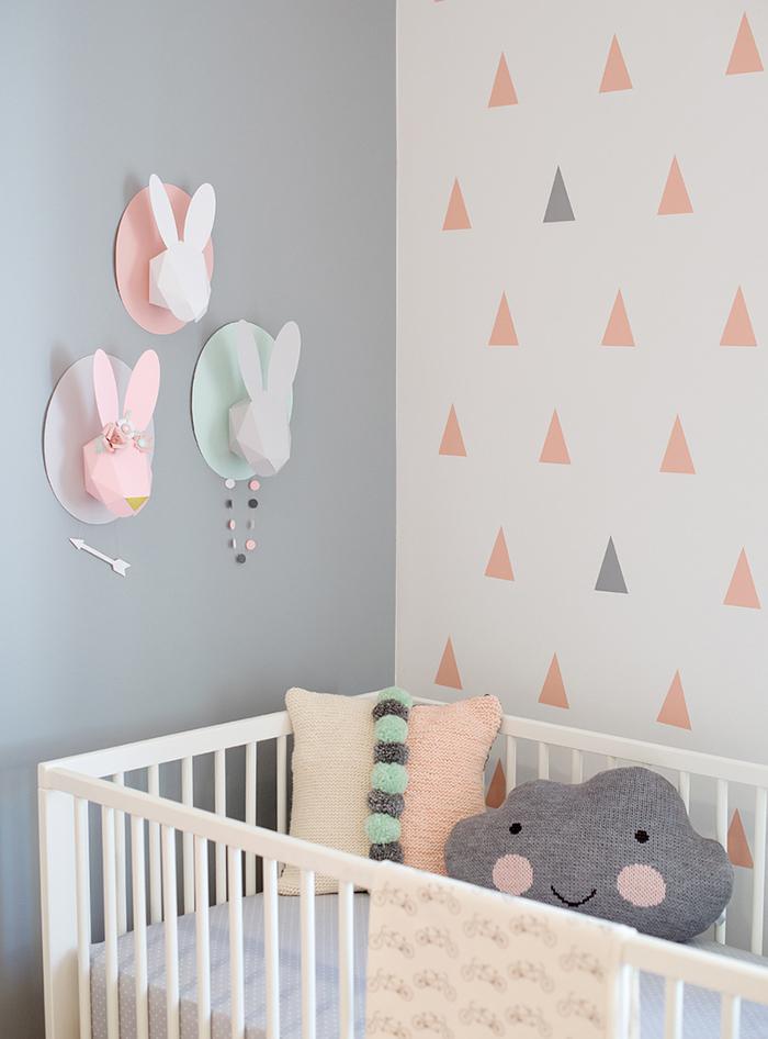 interieur & kids | hippe babykamer in pastel • stijlvol mama, Deco ideeën
