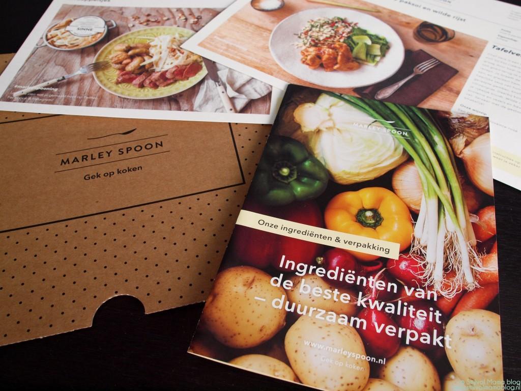 Food | Genieten met de Marley Spoon Foodbox