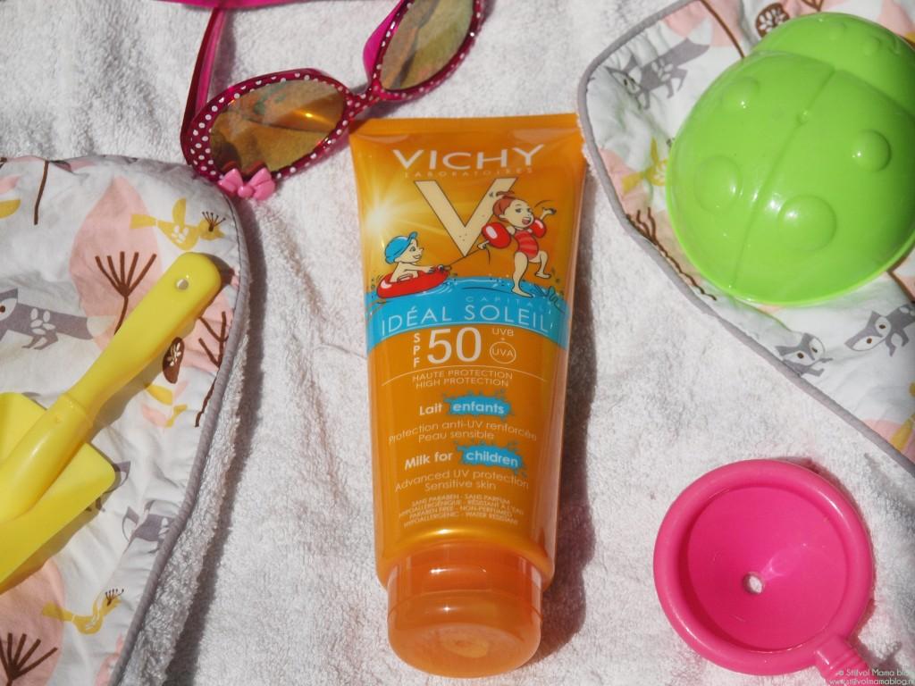 Kids | Vichy idéal soleil zonnebrandcreme / melk voor kids