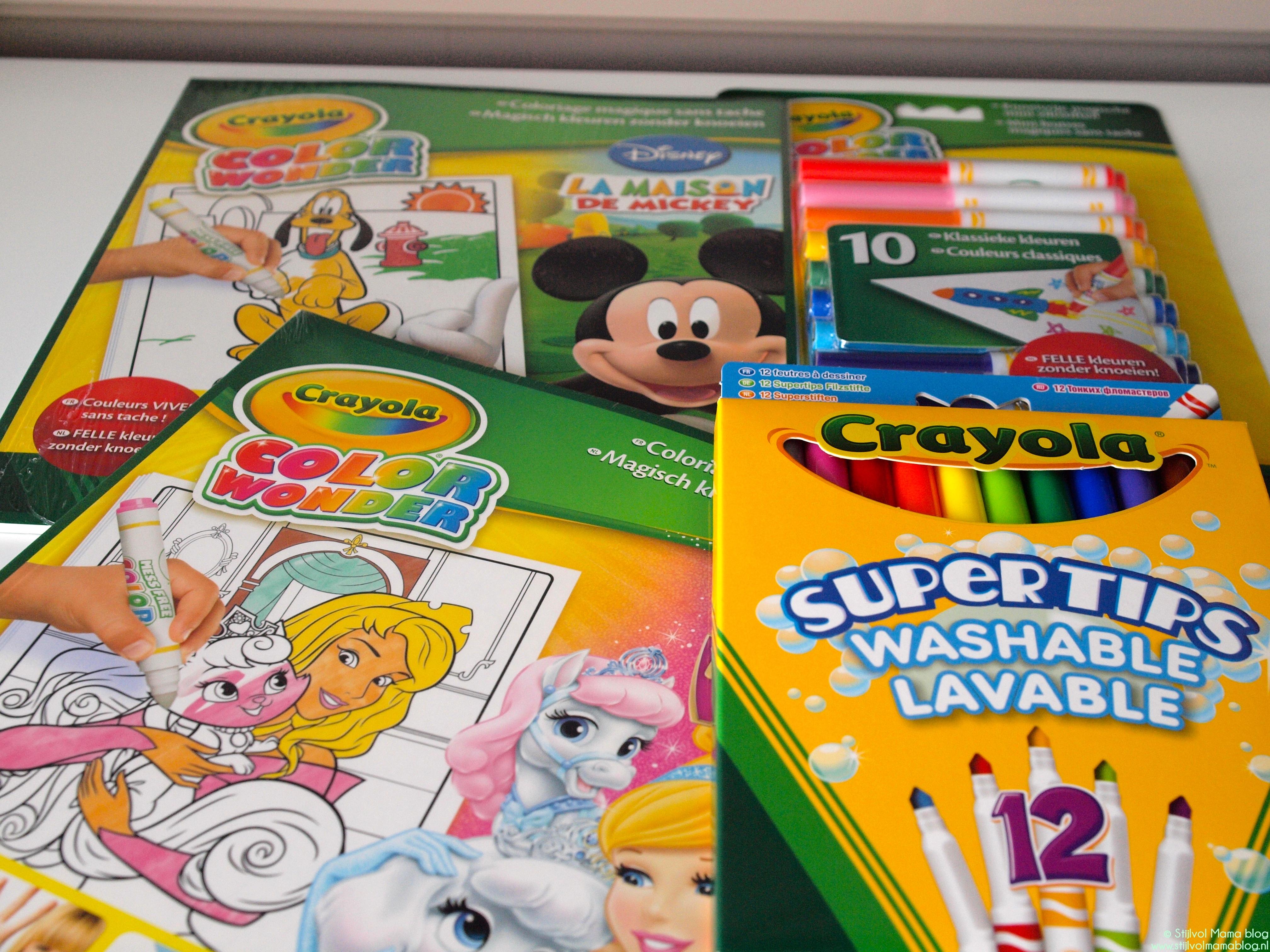 Kids | Crayola on-the-go, kleuren zonder knoeien